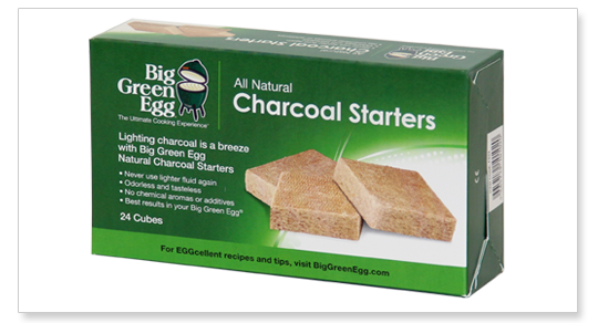 Big Green Egg Natural Charcoal Starters sytytyspalat