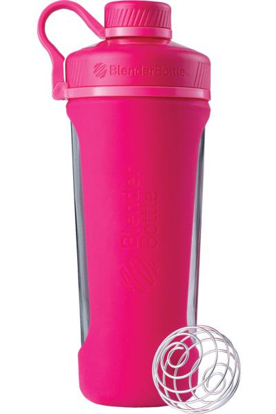 Blender Bottle Radian Glas 820ml Pink 500642